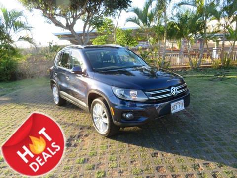 2014 Volkswagen Tiguan for sale in Waipahu, HI