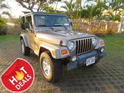 2002 Jeep Wrangler for sale in Waipahu, HI