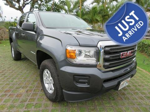 2016 GMC Canyon for sale in Waipahu, HI