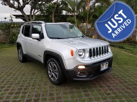 2016 Jeep Renegade for sale in Waipahu, HI
