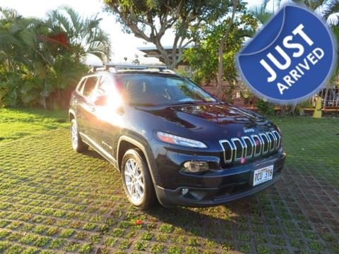 2015 Jeep Cherokee for sale in Waipahu, HI