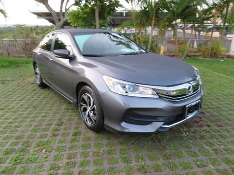2016 Honda Accord for sale in Waipahu, HI