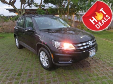2015 Volkswagen Tiguan for sale in Waipahu, HI