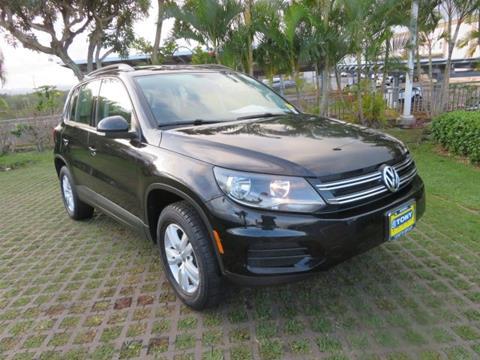 2016 Volkswagen Tiguan for sale in Waipahu, HI
