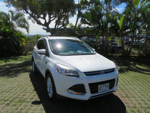 2014 Ford Escape for sale in Waipahu, HI