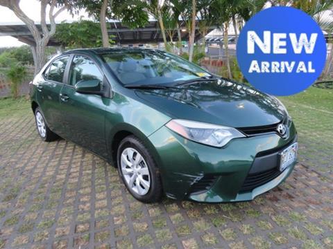 2014 Toyota Corolla for sale in Waipahu, HI