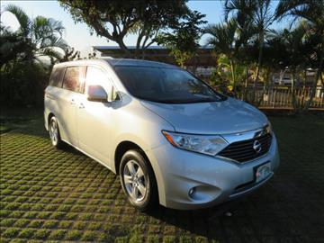 2014 Nissan Quest for sale in Waipahu, HI