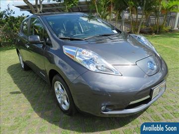 2013 Nissan LEAF for sale in Waipahu, HI