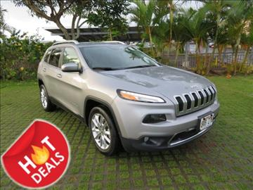 2016 Jeep Cherokee for sale in Waipahu, HI