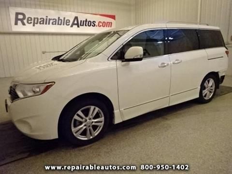 2012 Nissan Quest for sale in Strasburg, ND