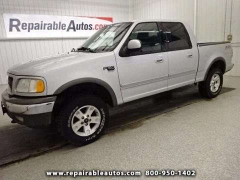 2002 Ford F-150 for sale in Strasburg, ND