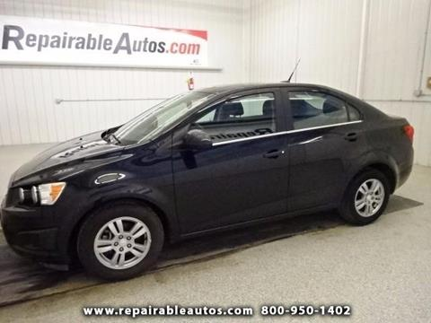 2014 Chevrolet Sonic for sale in Strasburg, ND
