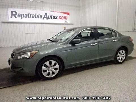 2008 Honda Accord for sale in Strasburg, ND