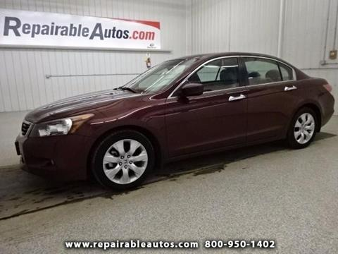 2009 Honda Accord for sale in Strasburg, ND