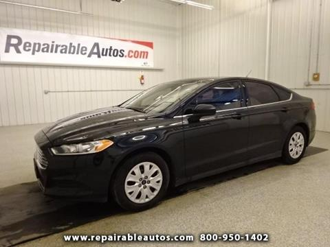 2014 Ford Fusion for sale in Strasburg, ND