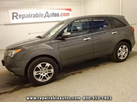 2007 Acura MDX for sale in Strasburg, ND