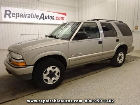 2004 Chevrolet Blazer for sale in Strasburg, ND