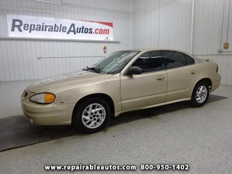 2004 Pontiac Grand Am for sale in Strasburg, ND