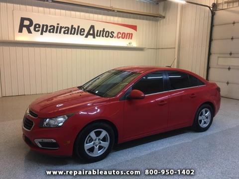 2016 Chevrolet Cruze Limited for sale in Strasburg, ND