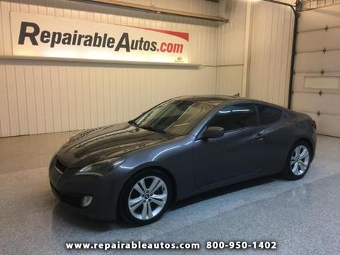 2012 Hyundai Genesis Coupe for sale in Strasburg, ND