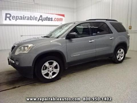 2008 GMC Acadia for sale in Strasburg, ND