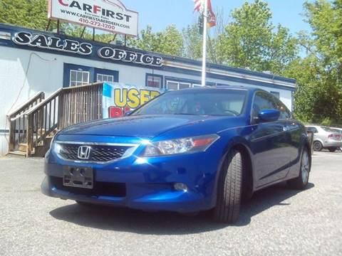 2009 Honda Accord for sale at CARFIRST ABERDEEN in Aberdeen MD