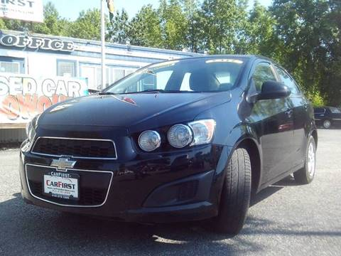 2012 Chevrolet Sonic for sale at CARFIRST ABERDEEN in Aberdeen MD
