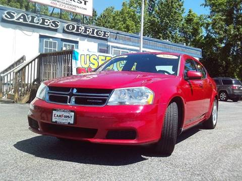 2011 Dodge Avenger for sale at CARFIRST ABERDEEN in Aberdeen MD