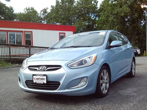 2014 Hyundai Accent for sale at CARFIRST ABERDEEN in Aberdeen MD