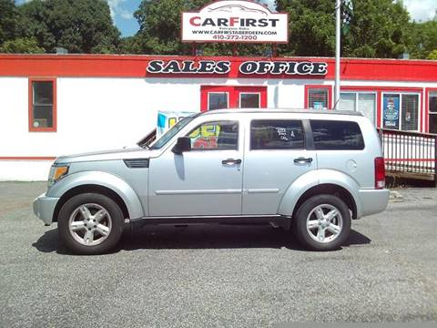 2007 Dodge Nitro for sale at CARFIRST ABERDEEN in Aberdeen MD