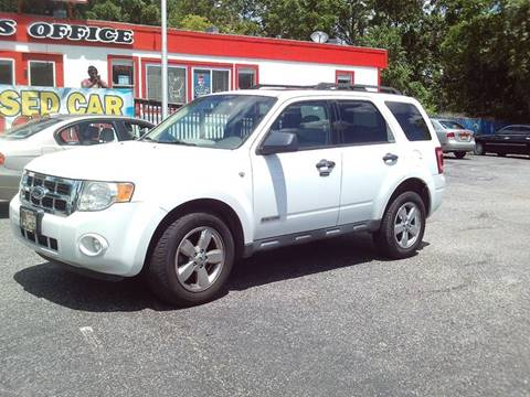 2008 Ford Escape for sale at CARFIRST ABERDEEN in Aberdeen MD