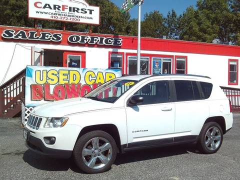 2011 Jeep Compass for sale at CARFIRST ABERDEEN in Aberdeen MD