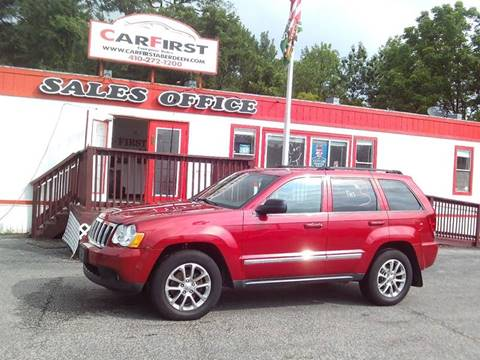 2010 Jeep Grand Cherokee for sale at CARFIRST ABERDEEN in Aberdeen MD