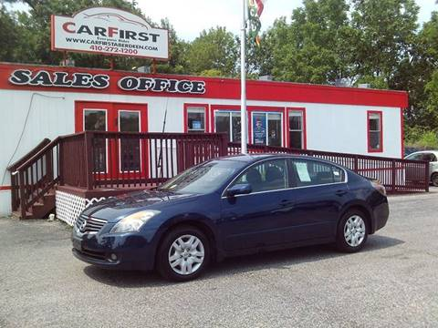 2009 Nissan Altima for sale at CARFIRST ABERDEEN in Aberdeen MD