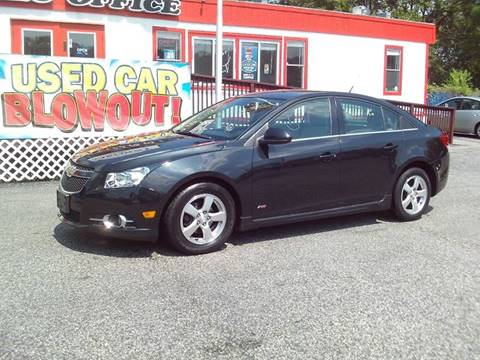 2013 Chevrolet Cruze for sale at CARFIRST ABERDEEN in Aberdeen MD
