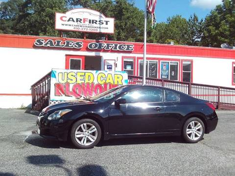 2011 Nissan Altima for sale at CARFIRST ABERDEEN in Aberdeen MD
