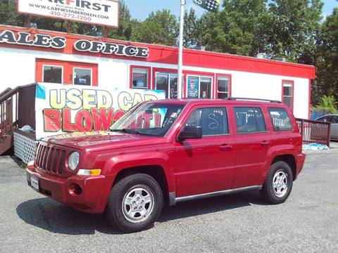 2010 Jeep Patriot for sale at CARFIRST ABERDEEN in Aberdeen MD