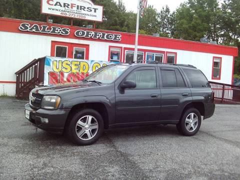 2007 Chevrolet TrailBlazer for sale at CARFIRST ABERDEEN in Aberdeen MD
