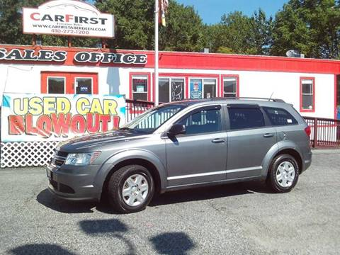 2012 Dodge Journey for sale at CARFIRST ABERDEEN in Aberdeen MD