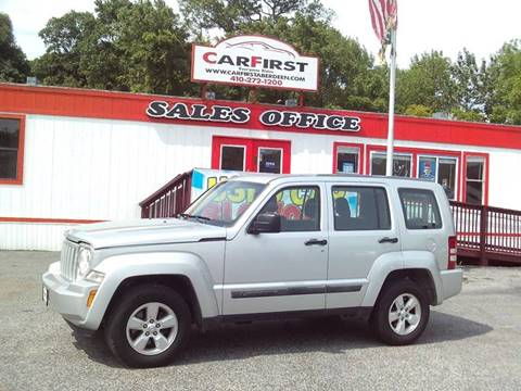2012 Jeep Liberty for sale at CARFIRST ABERDEEN in Aberdeen MD