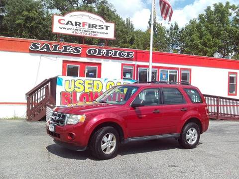 2011 Ford Escape for sale at CARFIRST ABERDEEN in Aberdeen MD