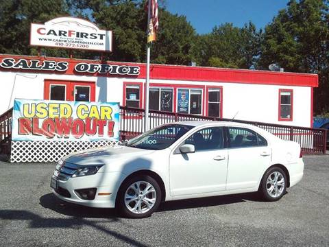 2012 Ford Fusion for sale in Aberdeen, MD