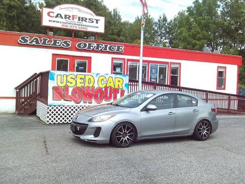 2012 Mazda MAZDA3 for sale at CARFIRST ABERDEEN in Aberdeen MD