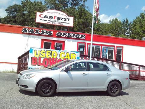 2011 Chevrolet Malibu for sale at CARFIRST ABERDEEN in Aberdeen MD