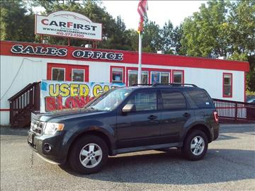 2009 Ford Escape for sale at CARFIRST ABERDEEN in Aberdeen MD
