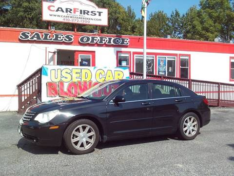 2007 Chrysler Sebring for sale at CARFIRST ABERDEEN in Aberdeen MD