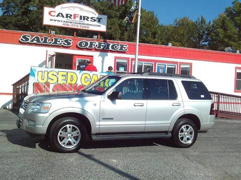 2007 Ford Explorer for sale at CARFIRST ABERDEEN in Aberdeen MD