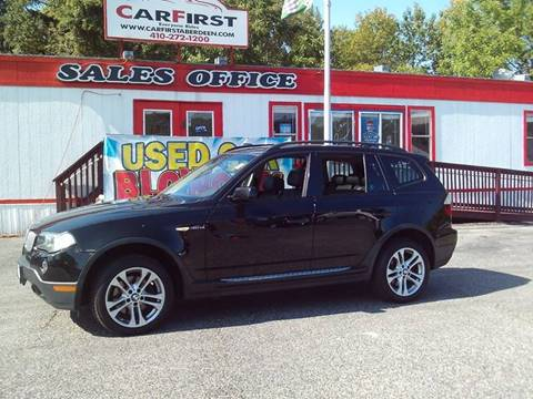 2008 BMW X3 for sale at CARFIRST ABERDEEN in Aberdeen MD