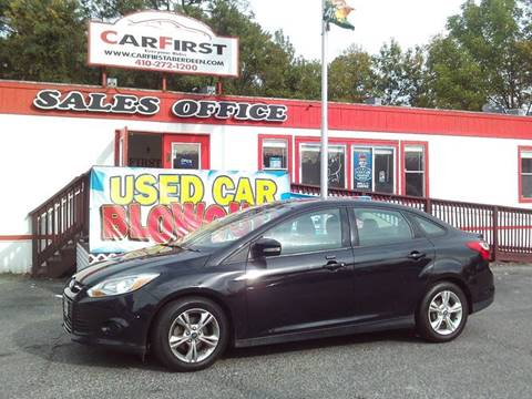 2014 Ford Focus for sale at CARFIRST ABERDEEN in Aberdeen MD