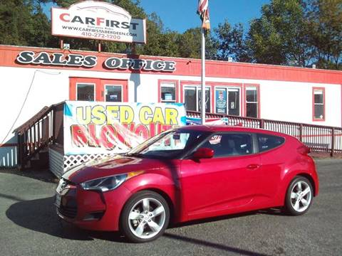 2015 Hyundai Veloster for sale at CARFIRST ABERDEEN in Aberdeen MD